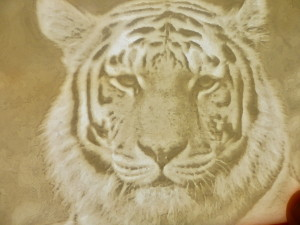 Siberian Tiger Lithophane