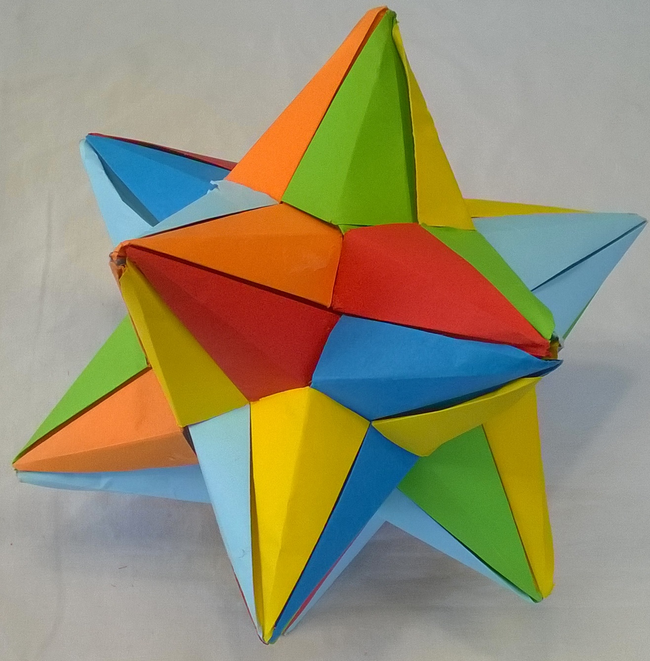 Origami 3d Shapes Instructions - photo#7