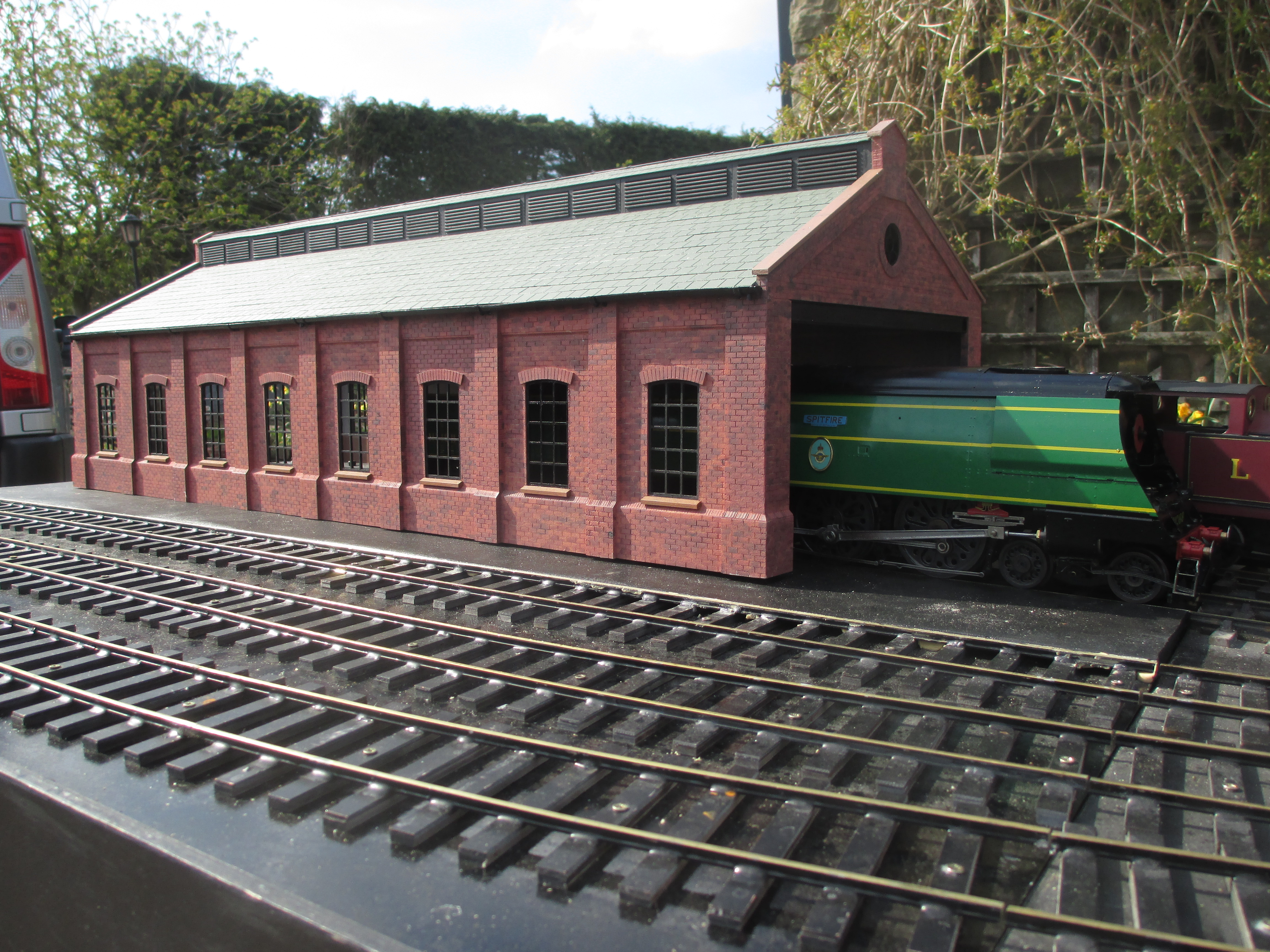 photograph relating to Printable Model Railroad Buildings called Design Railway 3D Prints Threedy 3D Printers