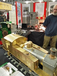 A lovely brass train (not 3D printed!) by Polly Model Engineering Ltd
