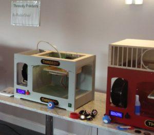 THREEDY 3D Printers ready to print